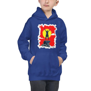 Rock Climbing (Top of the World) Children's Hoodie