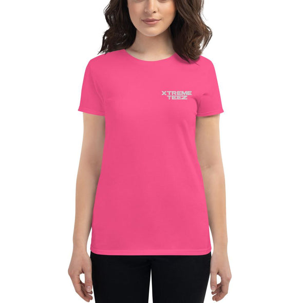 Xtreme Teez (Logo) Women's Embroidered Slim-Fit T-Shirt