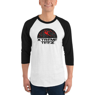 Xtreme Teez (Rock Climbing 2.0) Men's 3/4 Sleeved T-Shirt