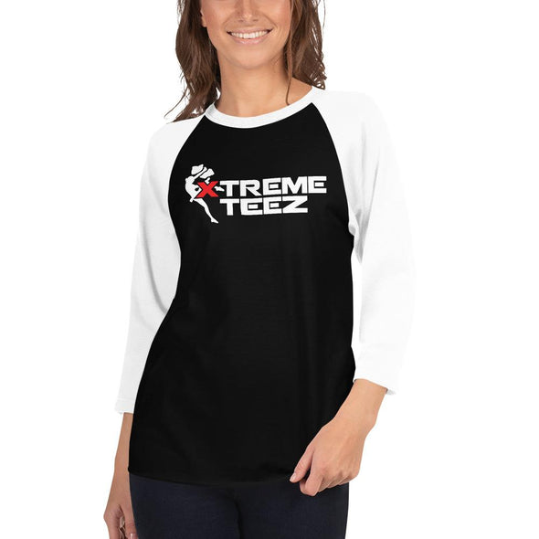 Xtreme Teez (Rock Climbing) Women's 3/4 Sleeved T-Shirt