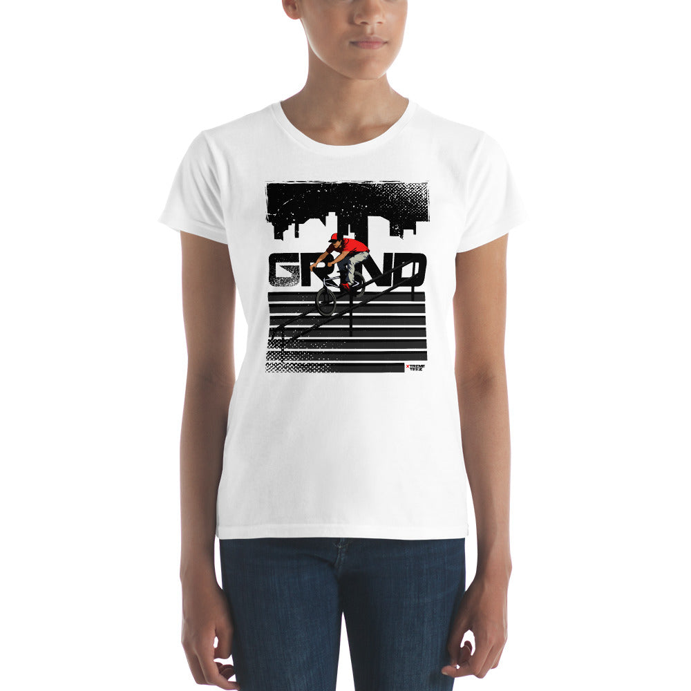 BMX (Grind) Women's Slim-Fit T-Shirt