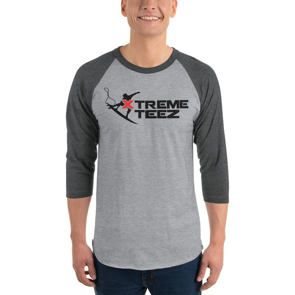 Xtreme Teez (Surfing) Men's 3/4 Sleeved T-Shirt