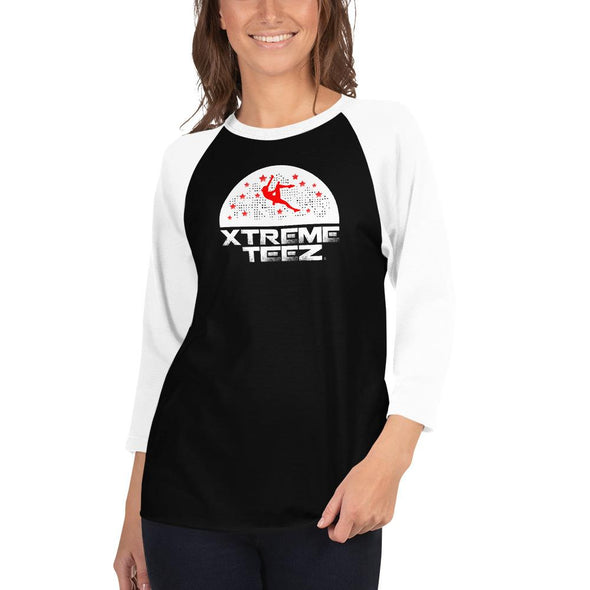 Xtreme Teez (Rock Climbing 3.0) Women's 3/4 Sleeved T-Shirt