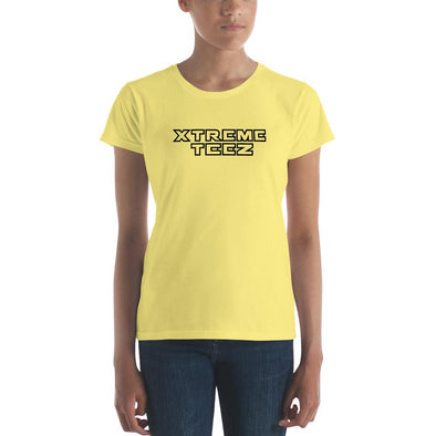 Xtreme Teez (Logo Reloaded) Women's Slim-Fit T-Shirt - XtremeTeez