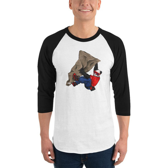 Johnny Xtreme (Rock Climbing) Men's 3/4 Sleeved T-Shirt