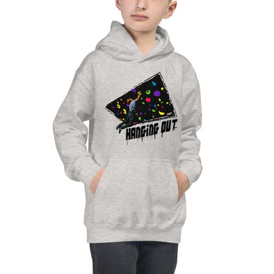 Rock Climbing (Hanging Out) Children's Hoodie