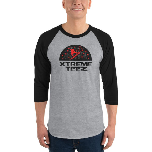 Xtreme Teez (Surfing 2.0) Men's 3/4 Sleeved T-Shirt