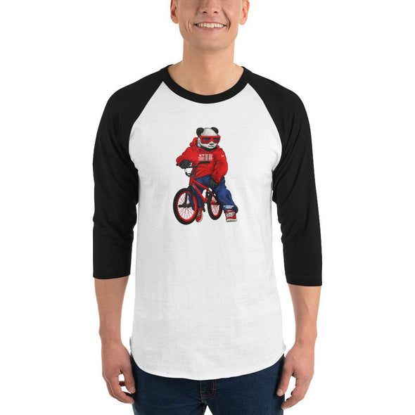 Johnny Xtreme (BMX) Men's 3/4 Sleeved T-Shirt