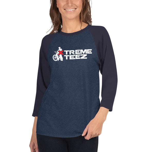 Xtreme Teez (BMX) Women's 3/4 Sleeved T-Shirt