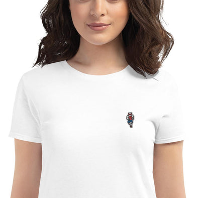 Johnny Xtreme (Running) Women's Embroidered Slim-Fit T-Shirt