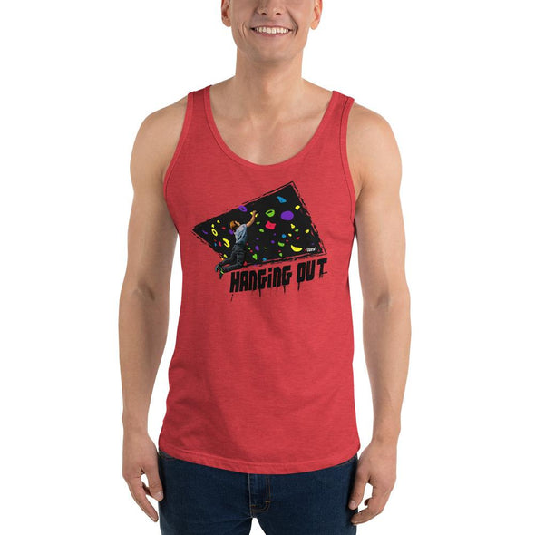 Rock Climbing (Hanging Out) Men's Tank