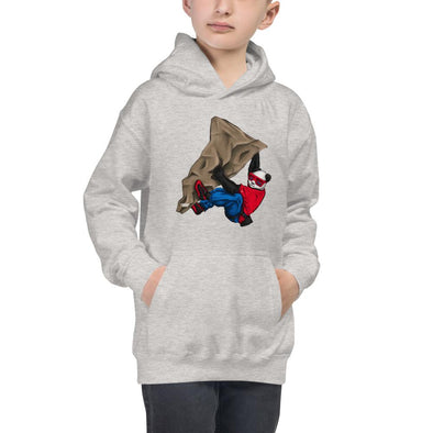 Johnny Xtreme (Rock Climbing) Children's Hoodie