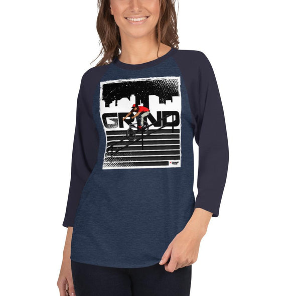 BMX (Grind) Women's 3/4 Sleeved T-Shirt