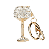 Luxurious Wine Glass Cup Charm - Think Fanny