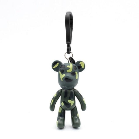 Military Carton Teddy Handmade Charm - Think Fanny