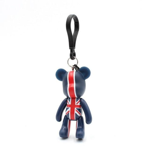 U.K Fashion Carton Teddy Handmade Charm - Think Fanny