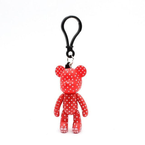 Red Ted Carton Teddy Handmade Charm - Think Fanny