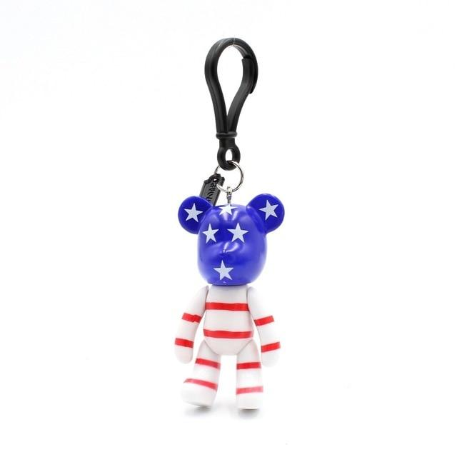 U.S.A Fashion Carton Teddy Handmade Charm - Think Fanny