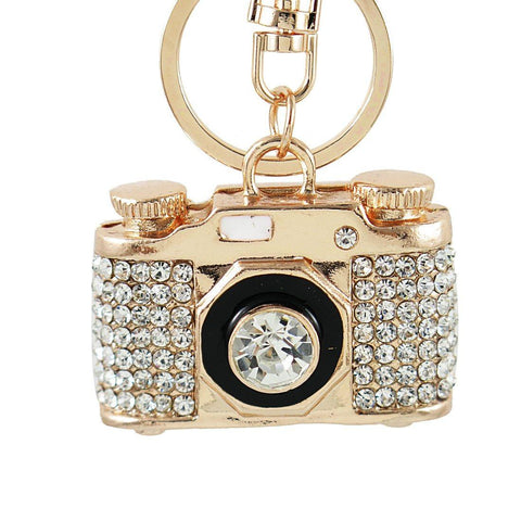 Crystal Camera Charm - Think Fanny