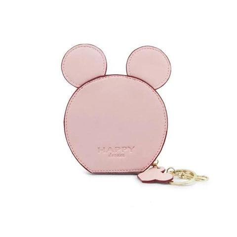 Pink Design Mickey Head Mini Wallets - Think Fanny
