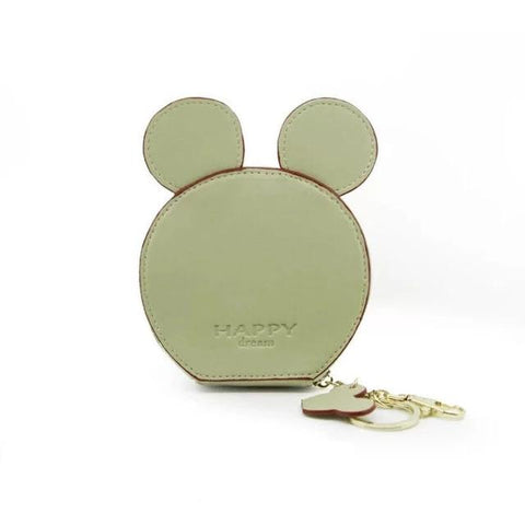 Green Design Mickey Head Mini Wallets - Think Fanny