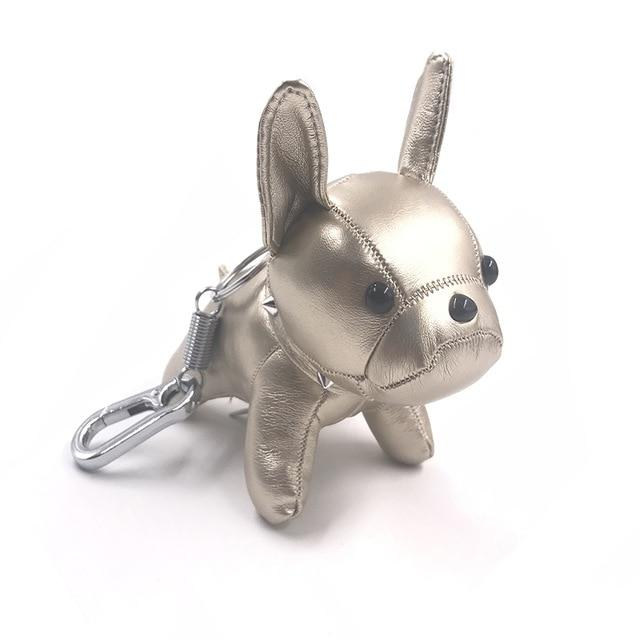 Leather Bulldog Charm - Think Fanny