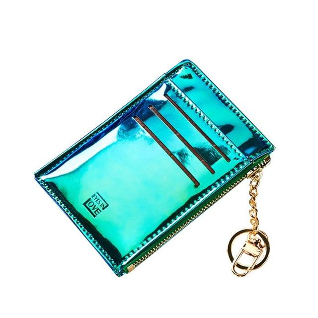 Blue Laser Slim Card Holder - Think Fanny
