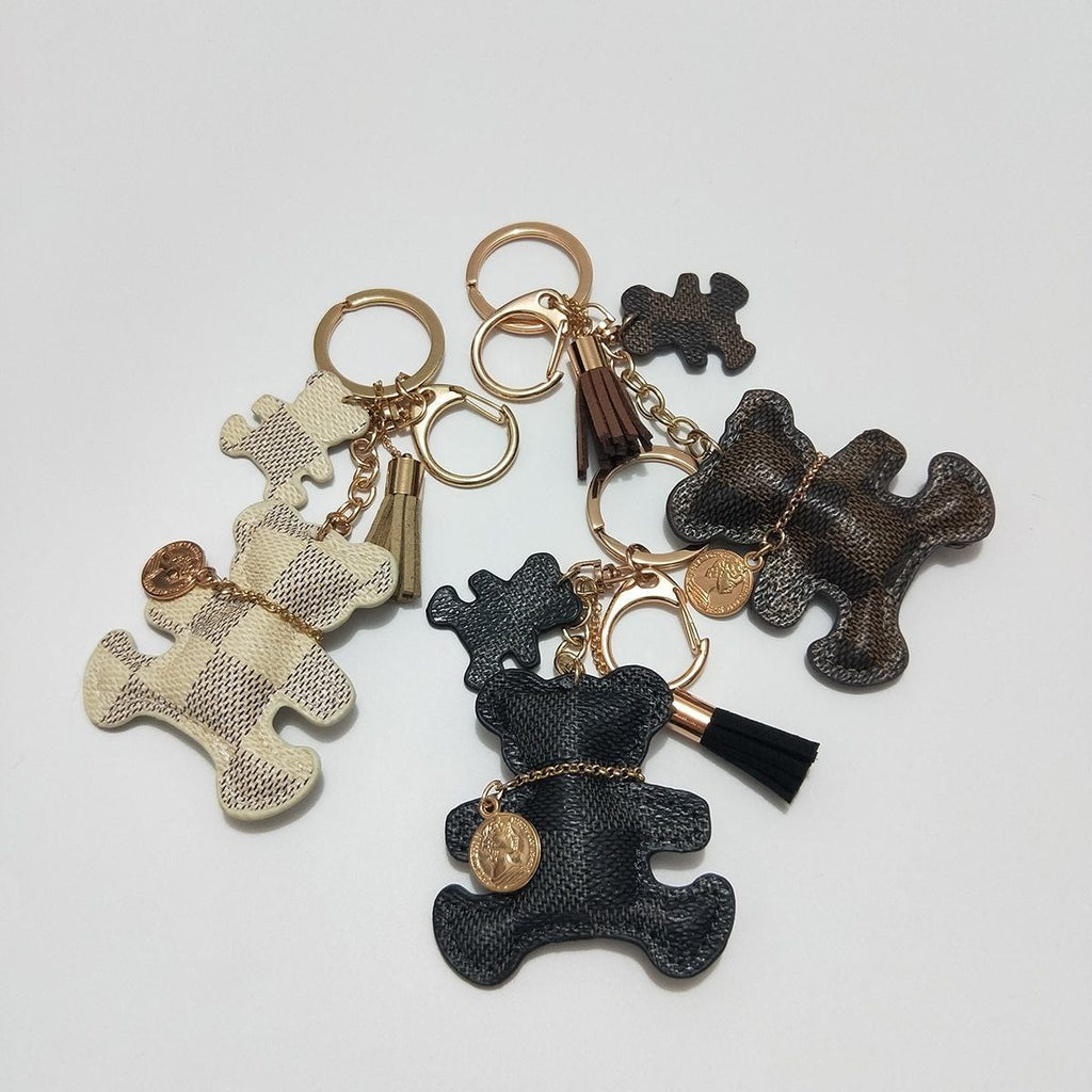 Brown Brand New Teddy Bear Charm - Think Fanny
