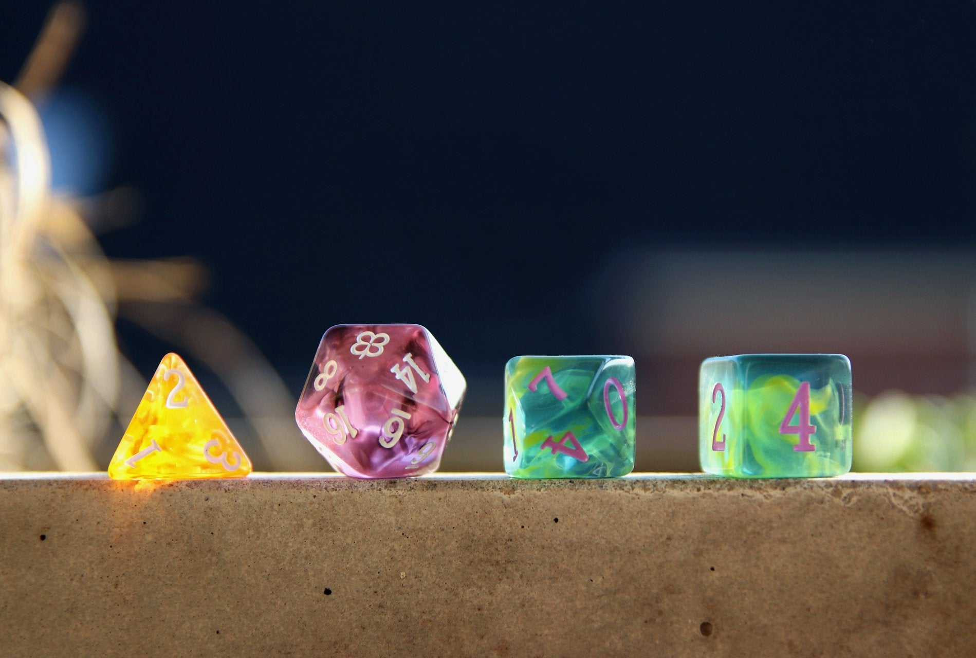 Dice tests - pic by Tina SSPT Member