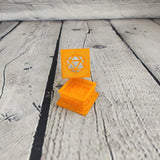 Light Orange Dice Jail