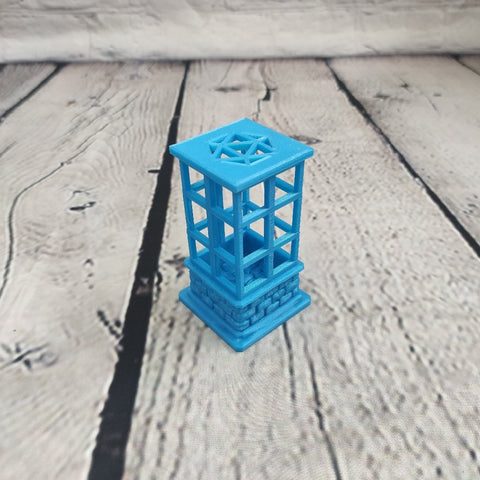 Light Blue Dice Jail
