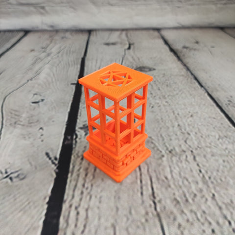 Prusa Orange Dice Jail