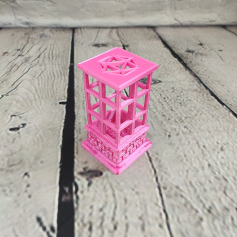Hot Pink Dice Jail