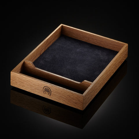 English Oak dice tray