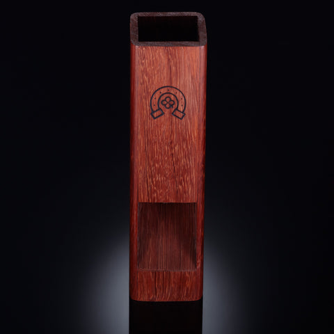 Padauk dice tower