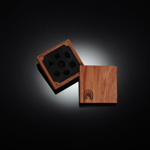 Rosewood Exalted Dice Vault