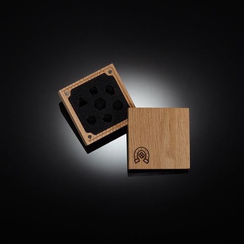 English Oak Exalted Dice Vault