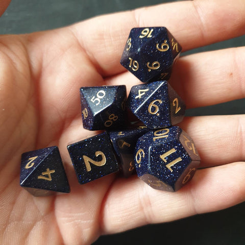 Blue Sandstone dice