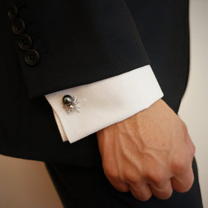 SPIDER CUFF LINKS