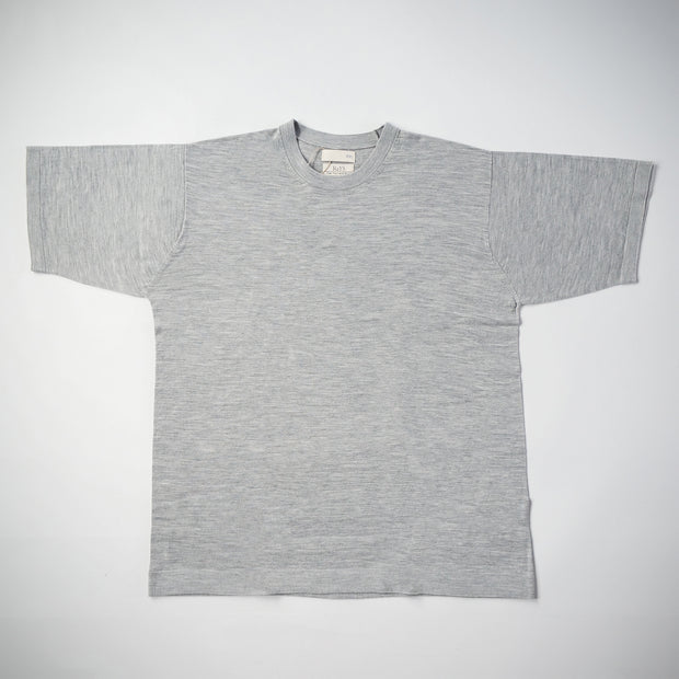 WOOL BIG T-SHIRT グレー
