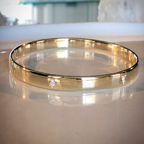 LOVE TOKEN BANGLE
