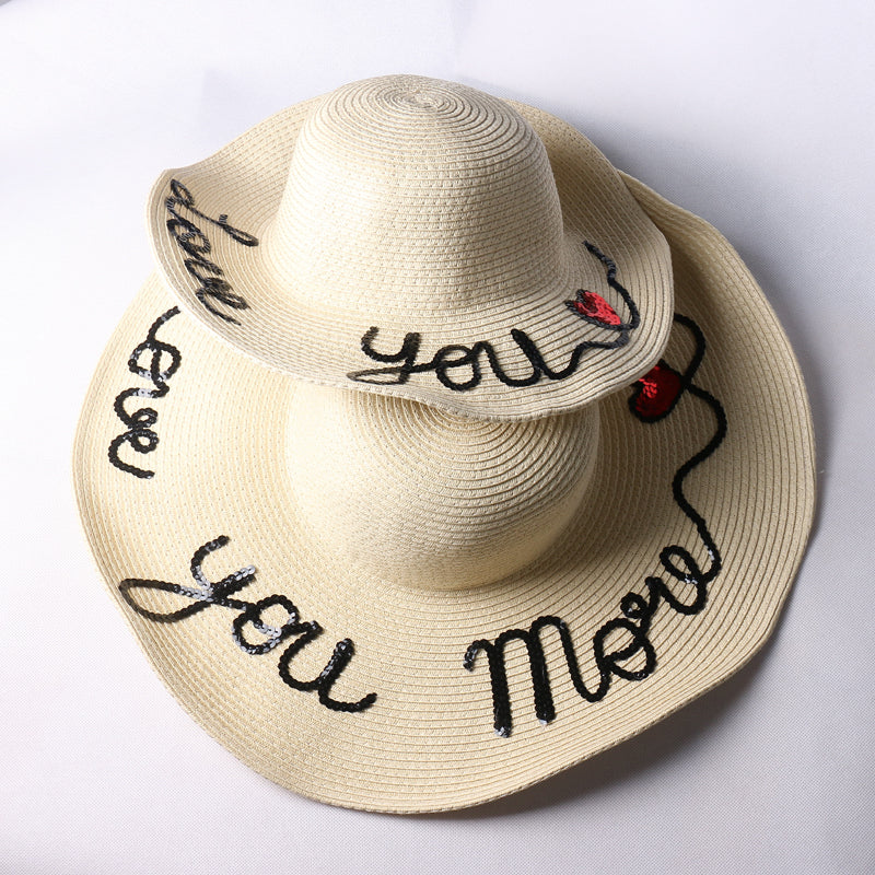 53674ae7727 Love You More - Mom   Me Sun Hat
