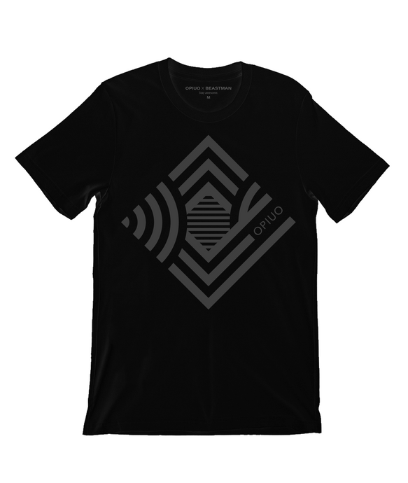 Opiuo Syzygy Greyscale T-Shirt