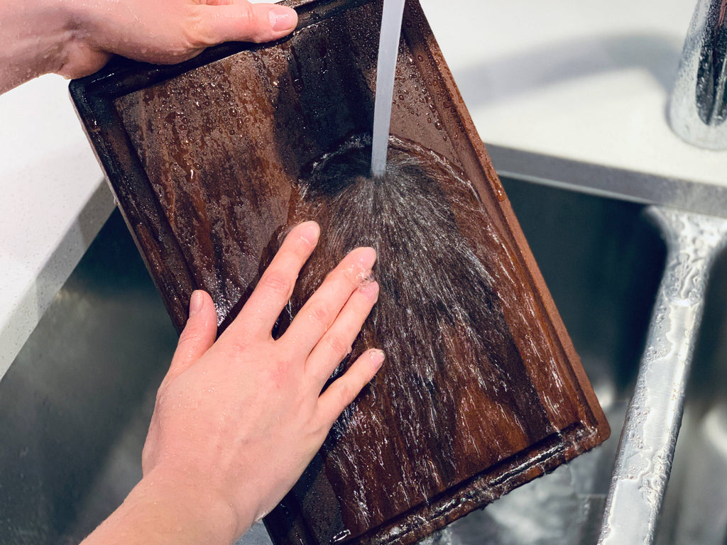 How to Clean a Wood Cutting Board