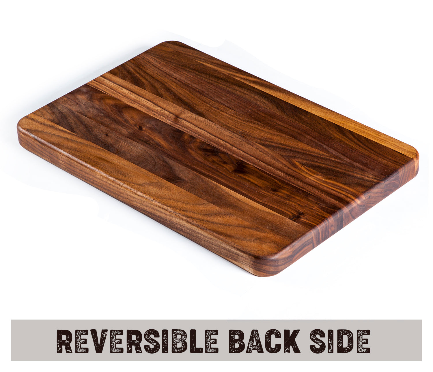 1812 Flat Grain Walnut Cutting Board with Juice Grooves  1 ¼ Thick