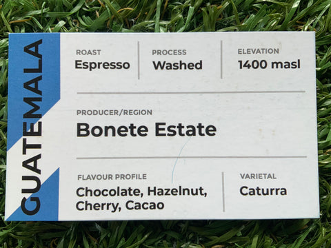 Guatemala Bonete Estate