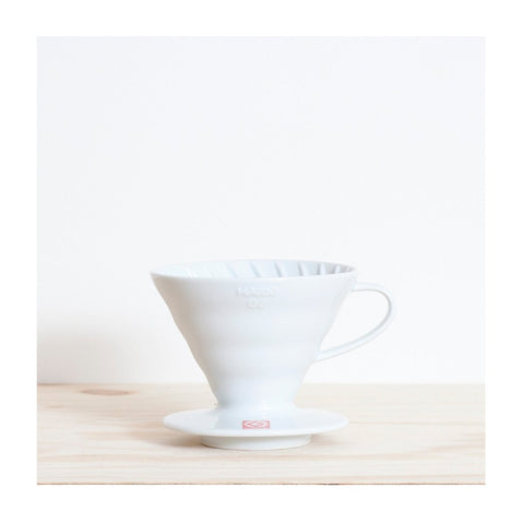 V60 Pour Over 2 Cup Cone White