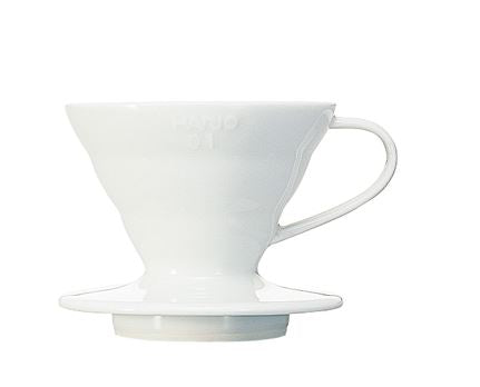 V60 Pour Over 1 Cup Cone White