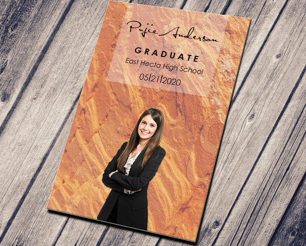 GRADUATION PARTY INVITATION - PERSONALIZED READY TO PRINT