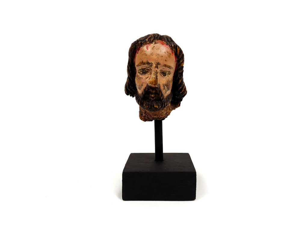 Antique Head of Christ Statue